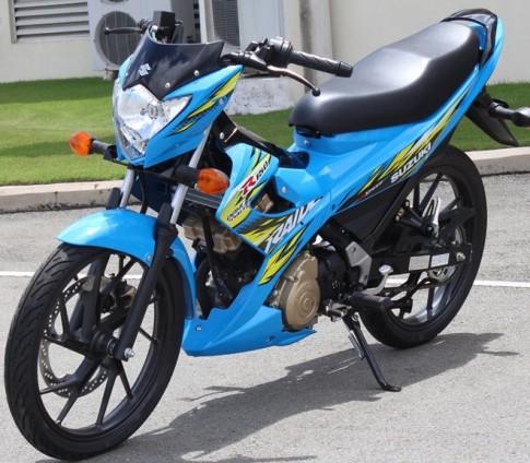 Hinh anh chi tiet nhat ve Suzuki Raider R150 Tai Viet Nam