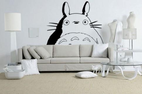Hình vẽ đơn giản giúp nhà trở nên vui mắt