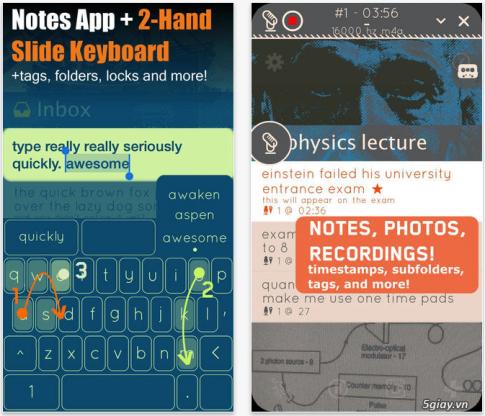Hipjot: Go phim tren iPhone voi toc do 120 WPM