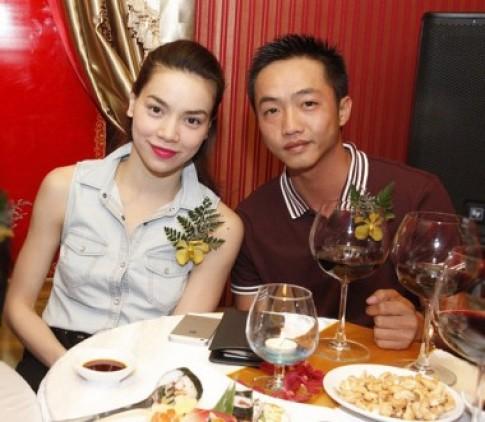 Ho Ngoc Ha va con trai 'trang tay' trong cong ty cua me con Cuong Do La