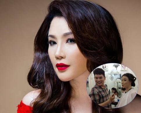 Ho Quynh Huong trau chuot cho dip tai xuat