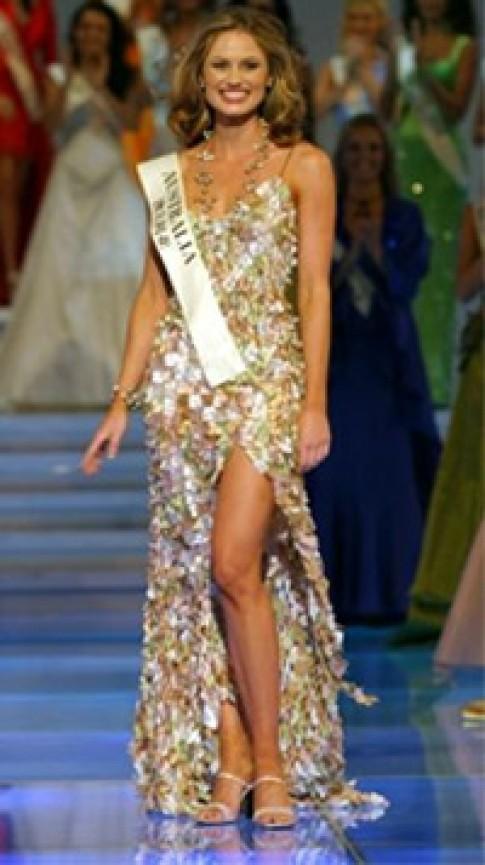 Hoa hậu Australia được yêu mến nhất