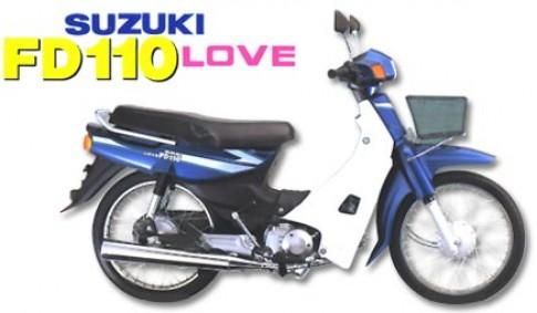 Hoai niem Su FD 110 Love,ban do cua Minibike Trung Khanh-HN