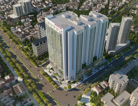 Hoàn thành xây thô dự án Hồ Gươm Plaza