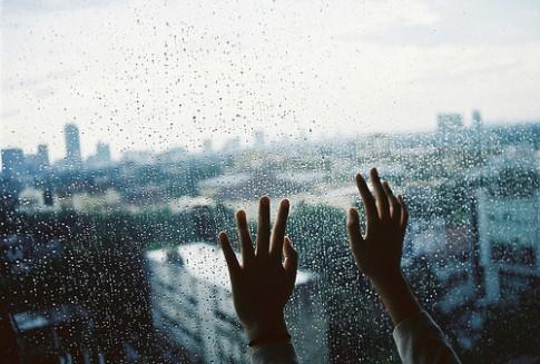 Hôm nay mưa buồn quá...