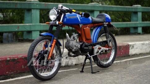 Honda 67 do phong cach Cafe Racer o Sai Gon