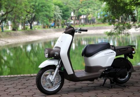 Honda Benly 110 xe tay ga phong cach moi la tai Ha Noi