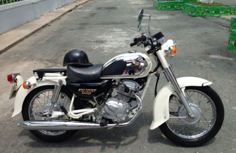 Honda Benly CD125T co mot khong hai tai Sai Gon
