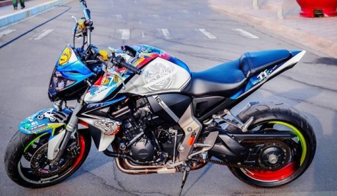 "Honda CB1000R Son tem ""teen"" cua Biker Phan Thiet"