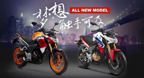 Honda CB190R - CBF190R chính thức ra mắt thị trường