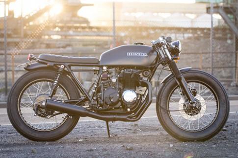 Honda CB400F do cafe racer theo phong cach lang tu