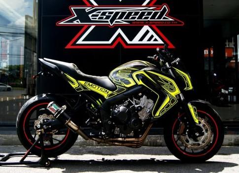 Honda CB650F độ phong cách Emotion Full Carbon
