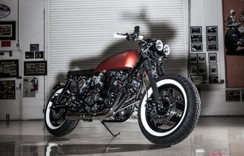 Honda CB750 titan độ cưc ngầu với phong cách cafe racer