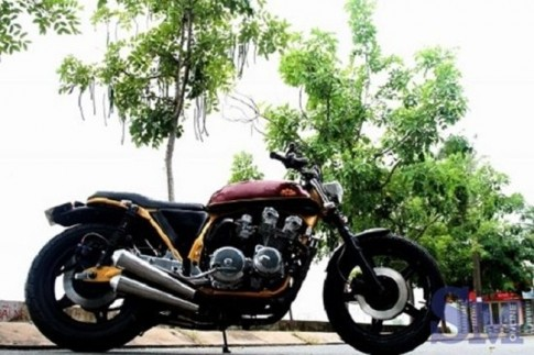 Honda CB750F do phong cach Street Tracker cuc ngau