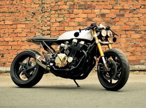 Honda CB750F2 – cafe racer ma vàng tại Sài Gòn