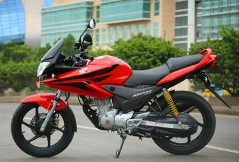 Honda CBF 125 dong xe that bai cua hang xe Nhat tai An Do