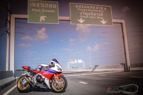 Honda CBR1000RR FireBlade SP độ full Option tại Thái