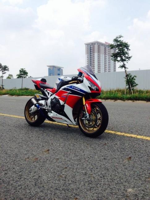 Honda CBR1000RR SP do day phong cach tai Viet Nam