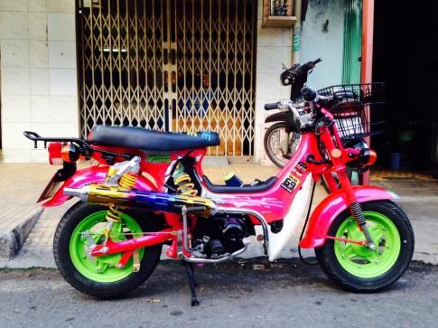 Honda Chaly do kieng su tro lai hoang hao