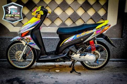 Honda click phien ban duoc coi la kieng nhe