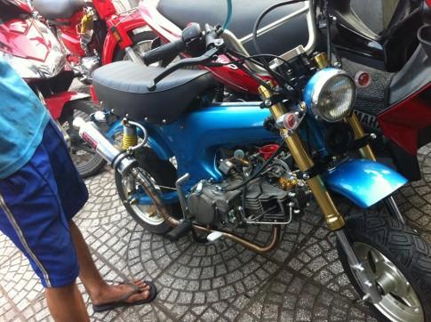 Honda Dax do bai trai lon binh FCR