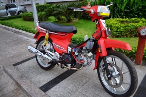 Honda dream đỏ độ kiểng đỉnh cao chữ chất