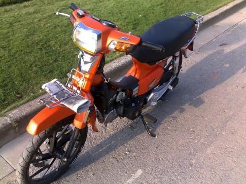 Honda dream độ phiên bản chất độc màu da cam cực phong cách