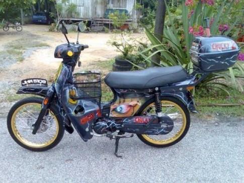 Honda Dream du mau sac