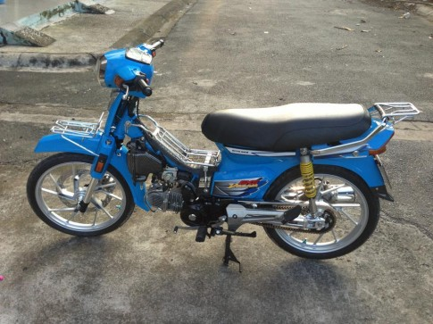 Honda Dream xanh raider