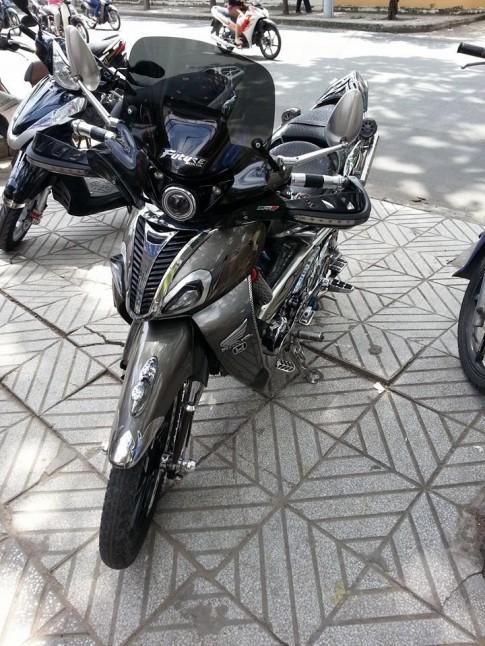 Honda Future 1 khủng nhất Sài Gòn