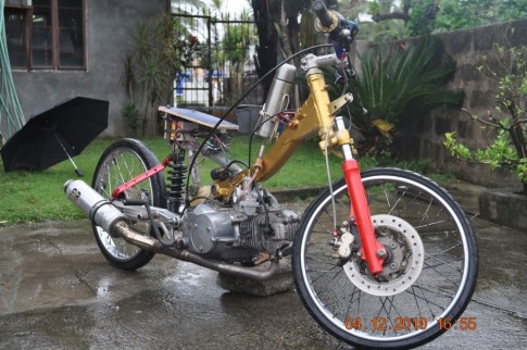 Honda future do Drag bike cuc chat