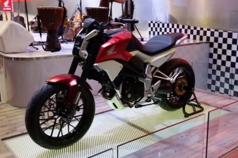 Honda gioi thieu mau xe nakedbike concept hoan toan moi