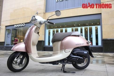 Honda Giorno 2015 xe tay ga danh cho nguoi khong co bang lai