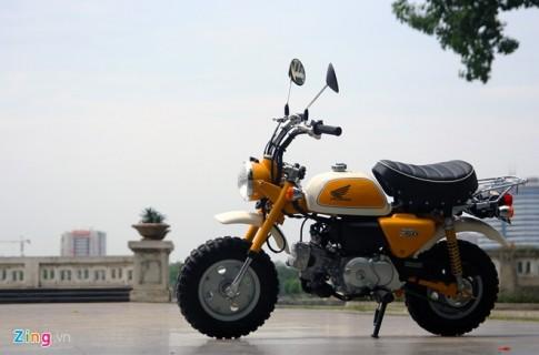Honda Monkey xe con tay 49cc gia 60 trieu ve Viet Nam