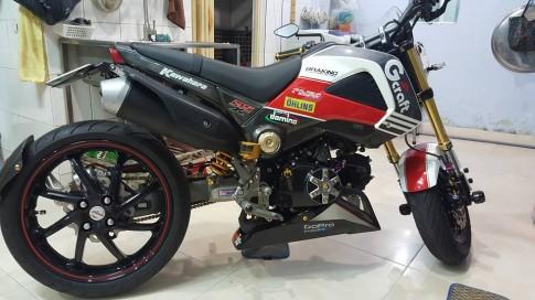 Honda MSX do 1 gap dau tien tai VN