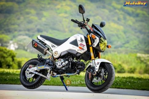 Honda MSX do day phong cach cua dan choi xu Dai