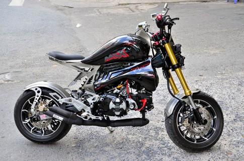 Honda MSX do doc dao voi phien ban Harley