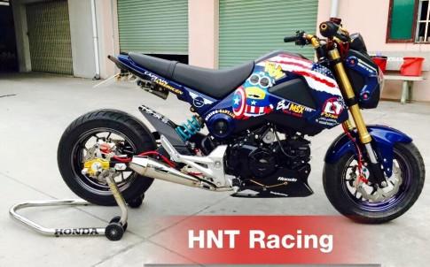 Honda MSX độ hàng hiệu của dân chơi Việt