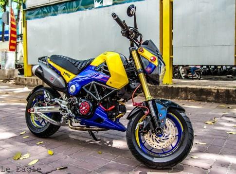 Honda MSX độ nhiều đồ chơi khủng tại Sài Gòn