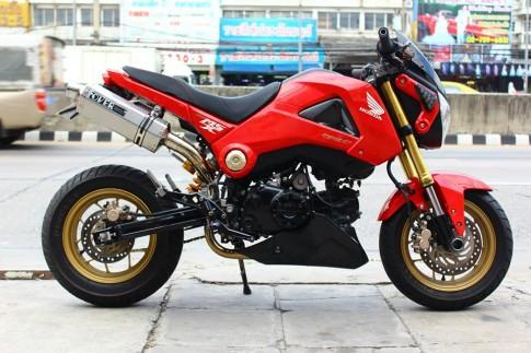 Honda MSX do phong cach cua nguoi Thai