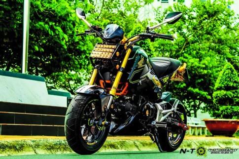 Honda MSX do sieu ngau cua dan choi Viet