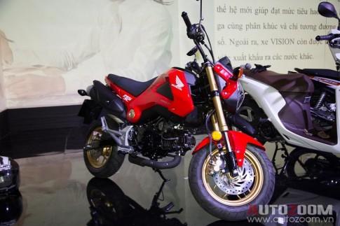 "Honda MSX ""ken khach"" tai Viet Nam"