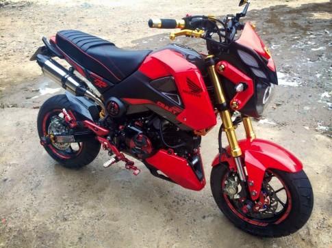 Honda MSX125 - chiếc Mini Motor phá cách của biker Việt