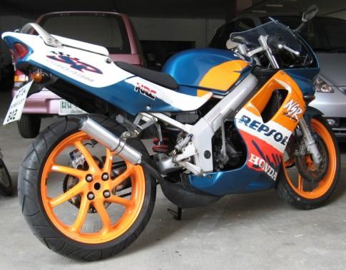 Honda NSR 150 do sieu doc den khong tuong