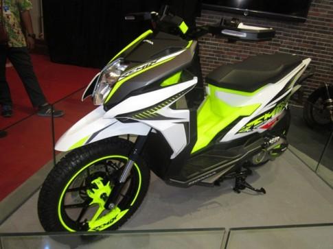 Honda Remix xe tay ga thể thao vừa được ra mắt