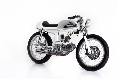 Honda S90 do caferacer