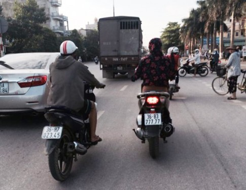 Honda SH mang biển số khủng ngũ quý 7 tại Thanh Hóa