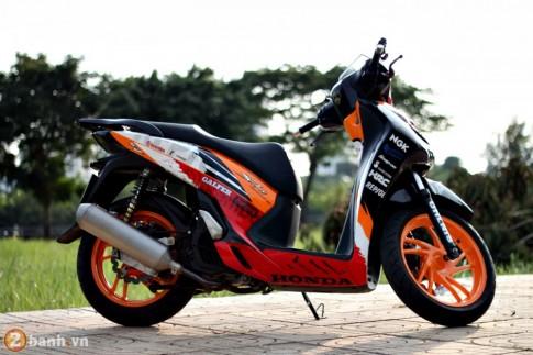 Honda SH phien ban Repsol - MotoGP