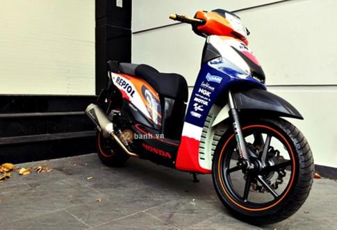 Honda SH qua cac the he