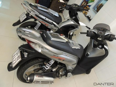 Honda SH vo it do de thuong